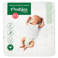 Organic Nappies - Newborn (2x52)