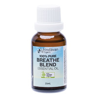 Organice Breathe Blend Essential Oil 25ml