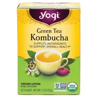 Green Tea Kombucha Organic Herbal Tea Bags x16
