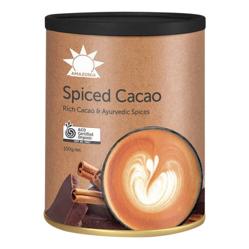 Organic Spiced Cacao 100g