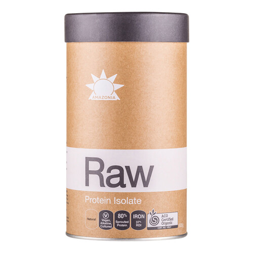 Organic Raw Protein Isolate - Natural 500g