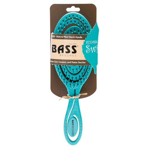 Eco-Flex Detangler Hair Brush - Teal Swirl