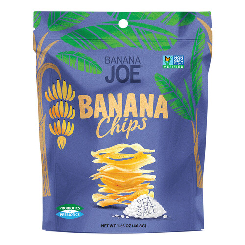 Sea Salt Crispy Banana Chips (6x47g)