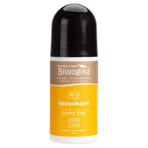 Lemon Organic Roll-on Deodorant 70ml