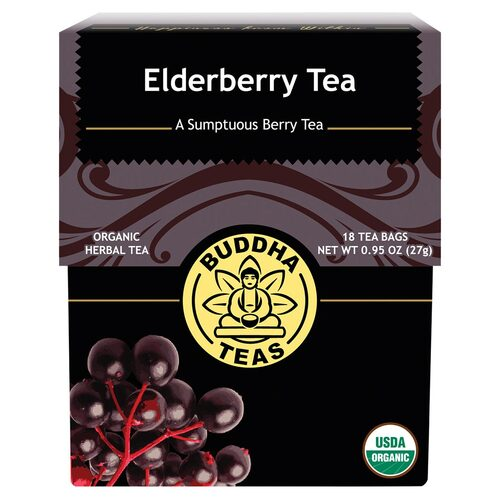 Organic Elderberry Tea Bags x18