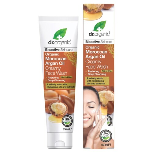 Organic Moroccan Argan Creamy Face Wash 150ml
