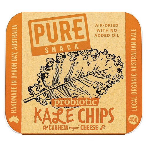 "Kale Chips with Cashew Vegan ""Cheese"" 45g"