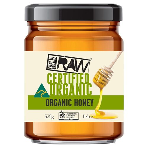 Organic Raw Honey 325g