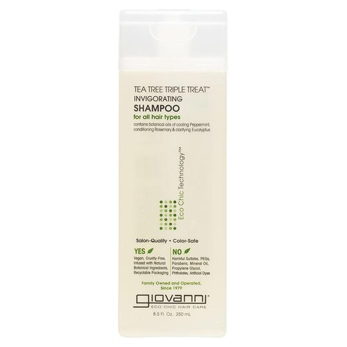 Tea Tree Triple Treat - Invigorating Shampoo 250ml