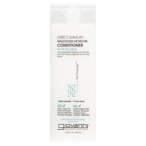 Direct Leave-in Weightless Moisture Conditioner 250ml