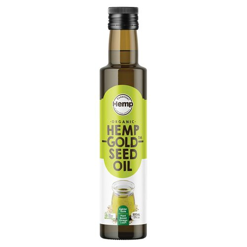 Organic Hemp Gold Seed Oil 500ml