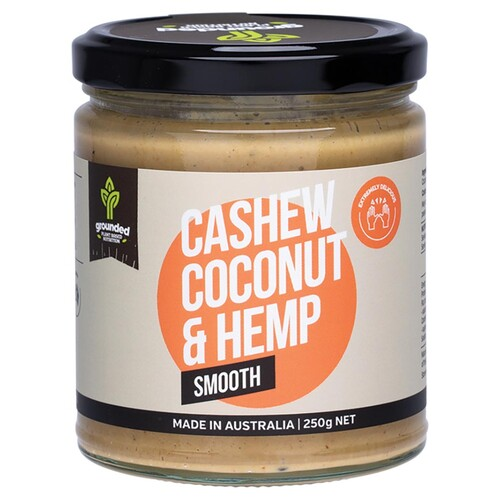 Cashew Coconut & Hemp Spread - Smooth 250g
