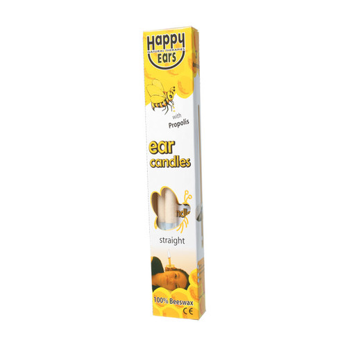 100% Beeswax Ear Candles - Straight x2