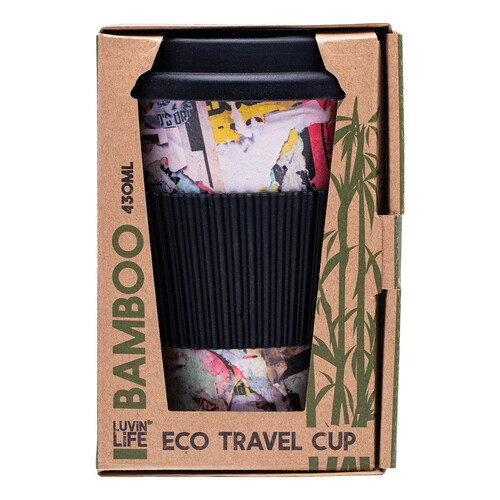 Bamboo Eco Travel Cup - Art 430ml