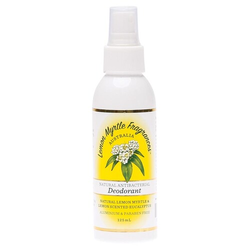 Lemon Myrtle Deodorant Spray 125ml