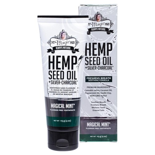Silver Charcoal Toothpaste (+Hemp Seed Oil) 113g