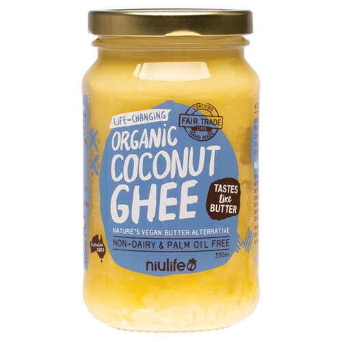 Organic Vegan Coconut Ghee 350ml