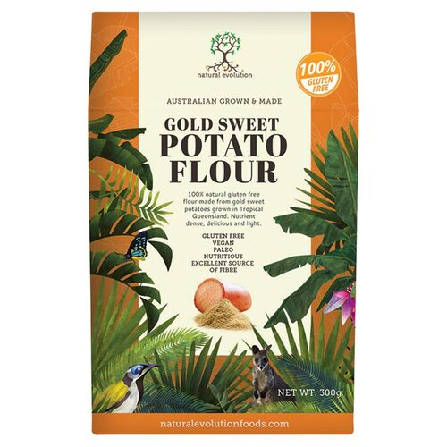 Gold Sweet Potato Flour 300g