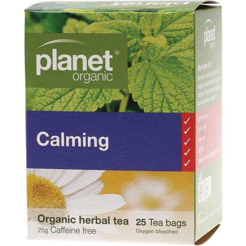 Organic Herbal Tea Bags - Calming x25