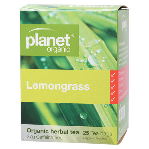 Organic Herbal Tea Bags - Lemongrass x25