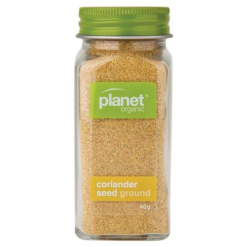 Organic Ground Coriander Seed 40g