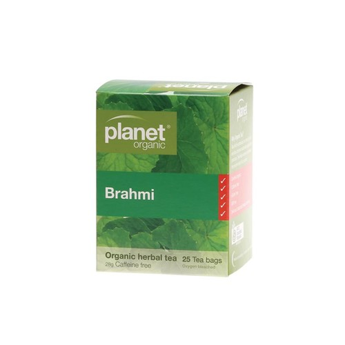 Brahmi Organic Herbal Tea Bags x25
