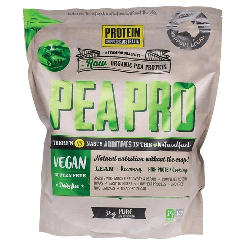 PeaPro Raw Pea Protein 3kg