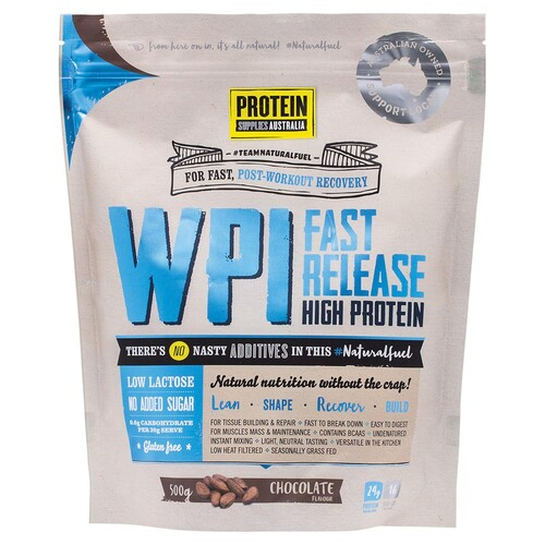 WPI Fast Release Protein - Chocolate 500g