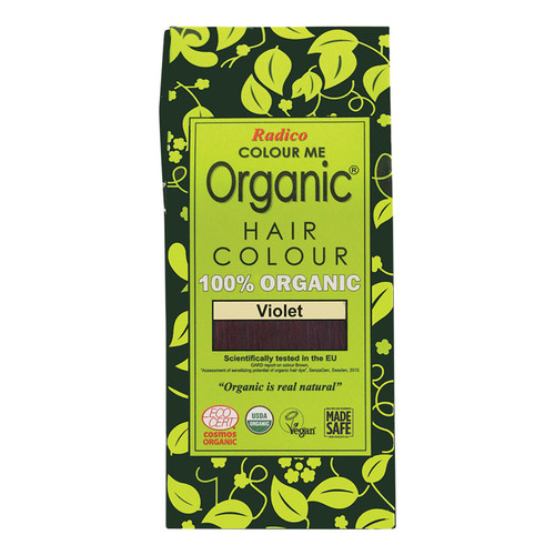 Organic Hair Colour - Violet 100g