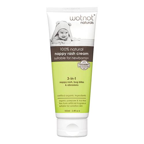 Natural 3 in 1 Nappy Rash Cream 100ml