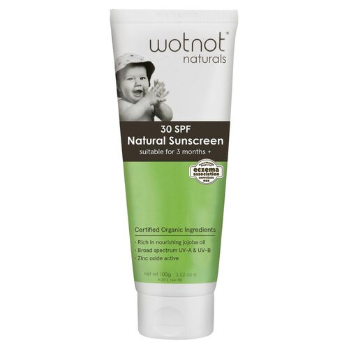 Natural Baby Sunscreen SPF 30+ 100g