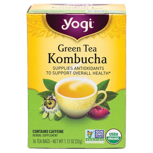 Green Tea Kombucha Tea Bags x16